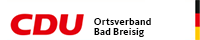 CDU-Ortsverband Bad Breisig Sticky Logo